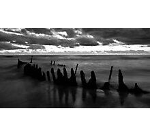 SHIP WRECK @ SUNRISE 3 Photographic Print