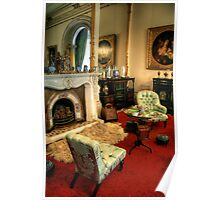 The Drawing Room at Werribee Mansion Poster