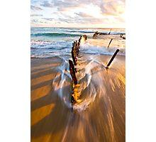SHIP WRECK @ SUNRISE 14 Photographic Print