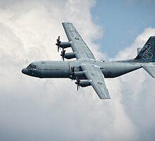 Lockheed C-130 Hercules by Anthony Caffery