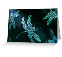 Dragon fly delight Greeting Card