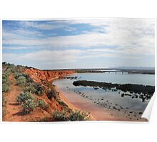 Red Cliffs Poster