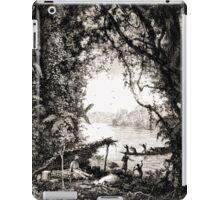Édouard Riou Voyage brazza braves laptots riou 1887 iPad Case/Skin