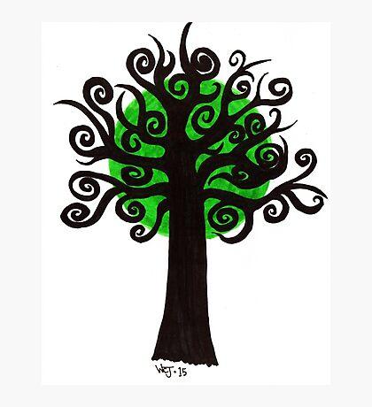 Green Tree Photographic Print