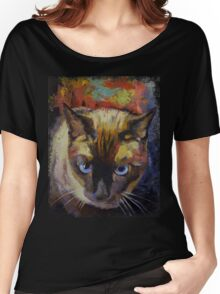 Seal Point Siamese Women's Relaxed Fit T-Shirt