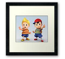 Ness and Lucas Framed Print