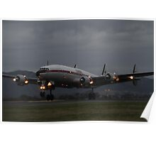 """Connie"" Super Constellation Poster"