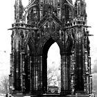 Scot monument in Edinburgh by ulryka