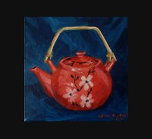 The Red Teapot. Oil on linen. 2012 Womens Fitted T-Shirt