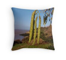 Tall tails. Throw Pillow