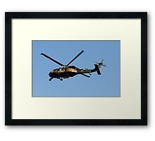 Australian ARMY Blackhawk 101 Framed Print