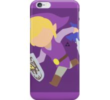 Toon Link (Purple) - Super Smash Bros. iPhone Case/Skin