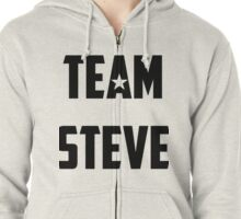 Team Steve Zipped Hoodie
