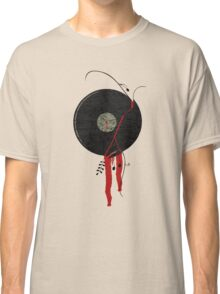 The bloody vinyl record won't die...Grunge Vintage Classic T-Shirt