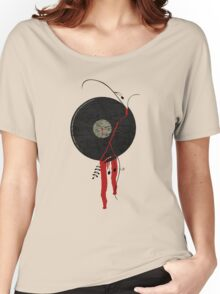 The bloody vinyl record won't die...Grunge Vintage Women's Relaxed Fit T-Shirt