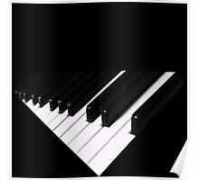 Blackwhite melody Poster