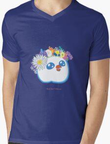 Pandabird in Spring - Blue! Mens V-Neck T-Shirt
