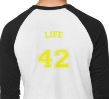 The Meaning of Life Men's Baseball ¾ T-Shirt