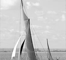 Thames Barge by DonMc
