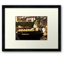 fast coffee... Framed Print