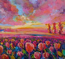 Tulip Field by HelenBlair
