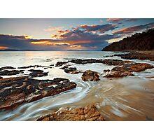 Sunrise at Seven Mile Beach Tasmania #2 Photographic Print