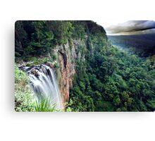 Purling Brook Falls View Canvas Print