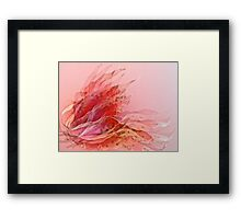 leafy seduction Framed Print