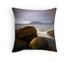 Elgol Rocks! Throw Pillow
