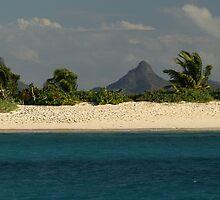 Deserted Beach in the Grenadines by moor2sea