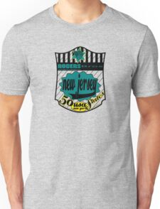 usa new jersey by rogers bros Unisex T-Shirt