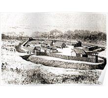 Édouard Riou Fort bodo riou 1890 Poster