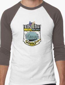 usa hawaii by rogers bros Men's Baseball ¾ T-Shirt