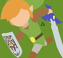 Toon Link (Classic) - Super Smash Bros by samaran