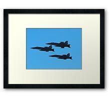 RAAF F/A-18s at Airshow Downunder 2011 Framed Print