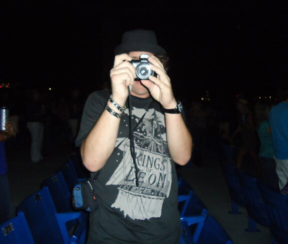 Me, Taking a Picture of Her, Taking a Picture of Me by Rusty Gentry
