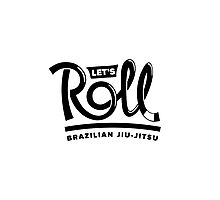 Let's Roll Brazilian Jiu-Jitsu Black Belt Photographic Print
