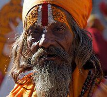 Holy Man, Udaipur by nekineko