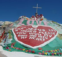Salvation mountain by Amanda Huggins