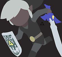 Toon Link (Dark) - Super Smash Bros. by samaran