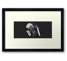 Toon Link (Dark) - Super Smash Bros. Framed Print