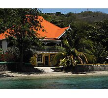 The Gingerbread House - Admiralty Bay, Bequai Photographic Print
