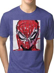 Spiderman splash Tri-blend T-Shirt
