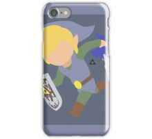 Toon Link (Silver) - Super Smash Bros. iPhone Case/Skin