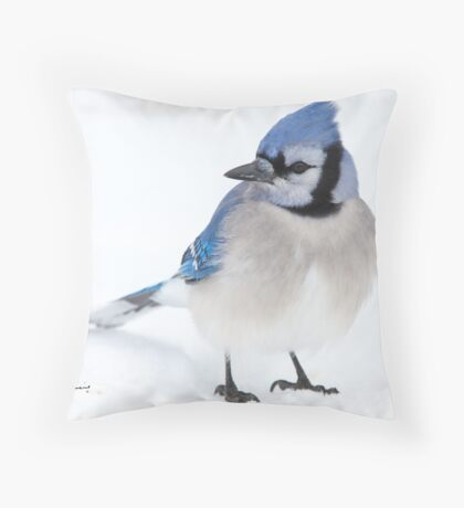 Forever In Blue Throw Pillow