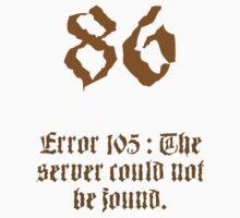 86 Server Errors by Greg Faircloth