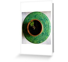 Fig Leave Greeting Card