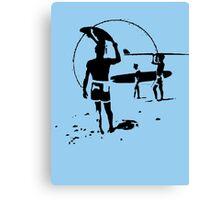 The Endless Summer - logo Canvas Print