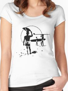 The Endless Summer - logo Women's Fitted Scoop T-Shirt