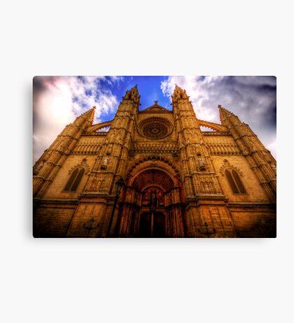 Cathedral of Santa Maria of Palma Canvas Print